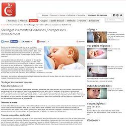 Soulager les montées laiteuses / compresses d'allaitement - Articles - Bébé