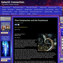 Time Compression and the Psychonaut