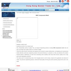 SMC Compression Mold for Sale - Bostar Trade