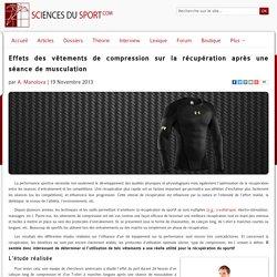 Effets des vêtements de compression sur la récupération après une séance de musculation