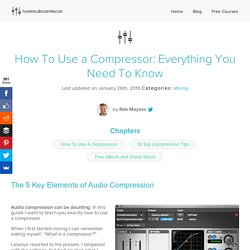 How To Use a Compressor: Everything You Need To Know