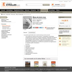 Blocs de terre crue - Adobe bloc comprimé bloc extrudé - J.Jeannet