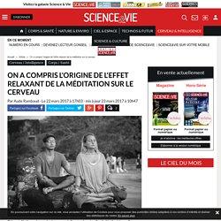 On a compris l'origine de l'effet relaxant de la méditation sur le cerveau - Science-et-vie.com