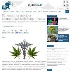 10 beneficios médicos (comprobados) de la marihuana