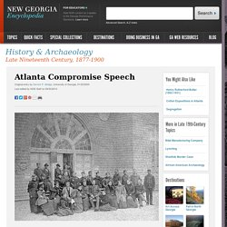 Atlanta Compromise Speech