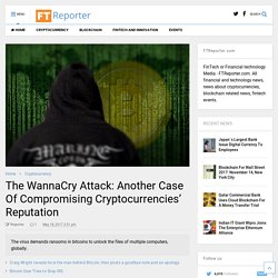 WannaCry Attack: Compromising Cryptocurrencies