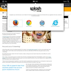 Are you compromising your children's privacy online? - Marianne Stenger - ABC Splash -