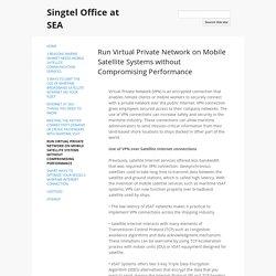 Mobile Satellite Services in Singapore