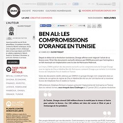 Ben Ali: les compromissions d'Orange en Tunisie » Article » OWNI, Digital Journalism
