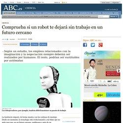 Comprueba si un robot te dejará sin trabajo en un futuro cercano