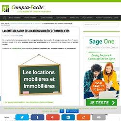 Comptabilisation des locations de biens mobiliers et immobiliers