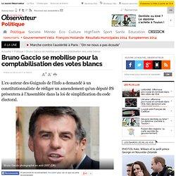 Bruno Gaccio se mobilise pour la comptabilisation des votes blancs - Politique