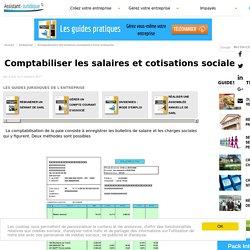 Comptabiliser les salaires et cotisations sociales - Assistance juridique entreprise gratuite