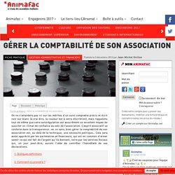 Gérer la comptabilité de son association - Animafac