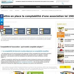 Mettre en place la comptabilité d'une association loi 1901 - Aide juridique association en ligne gratuite