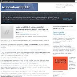 La comptabilité de votre association : résultat de l'exercice, report à nouveau et réserves