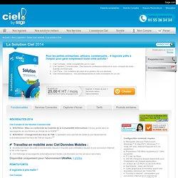 La Solution Ciel : logiciel de comptabilité, paie et gestion commerciale