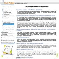 Comptabilité générale - Les principes comptables généraux