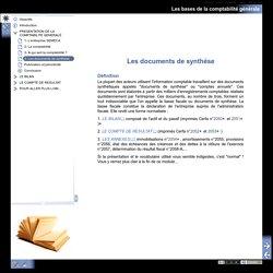 Les bases de la comptabilité générale - 4- Les documents de synthèse