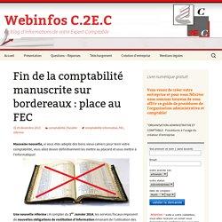Fin de la comptabilité manuscrite sur bordereaux : place au FEC