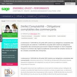 [Veille] Comptabilité - Obligations comptables des commerçants