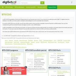 Annuaire BTS CGO - Comptabilité et Gestion des Organisations