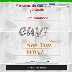 comptabilité - plan financier