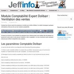 Module Comptabilité Expert Dolibarr : Ventilation des ventes - Jeffinfo