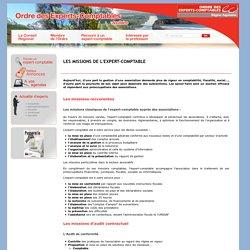 Les missions de l'Expert-Comptable / Associations / Recourir / Accueil - CROEC Aquitaine