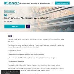 Emploi Expert-comptable / Commissaire aux comptes (h/f)