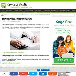 Le bilan comptable : composition et lecture