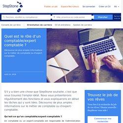 Quel est le rôle d'un comptable/expert comptable ? - StepStone
