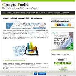 L'annexe comptable, obligation liée aux comptes annuels
