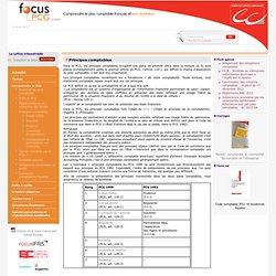 Principes comptables / Comprendre le PCG / Menu Gauche / Focus PCG