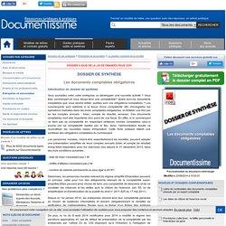 Les documents comptables obligatoires