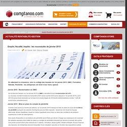 Emploi, fiscalité, impôts : les nouveautés de janvier 2015
