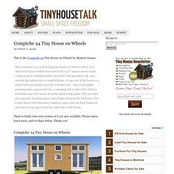 Comptche 24 Tiny House on Wheels