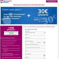 Compte bancaire en ligne - Boursorama Banque