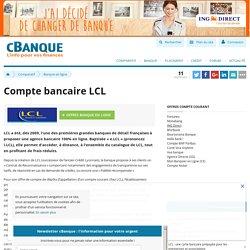Compte bancaire LCL