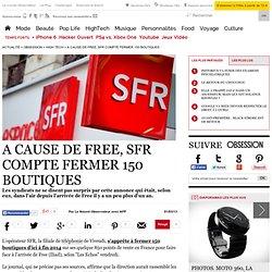 Document 3 A cause de Free, SFR compte fermer 150 boutiques - 1 mars 2013