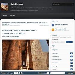 Compte-rendu: Christiane Zivie-Coche, Dieux et Hommes en Egypte 3'000 av. J.-C. – 395 ap. J.-C. - ArteHistoire