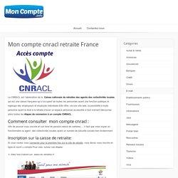 Accès à un compte cnracl retraite en France