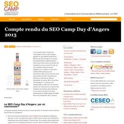 Compte rendu du SEO Camp Day d'Angers 2013