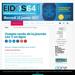 EIDOS journée formation 100 % en ligne