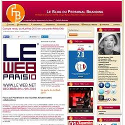 Compte rendu du #LeWeb 2010 en une perle #Web10ftv