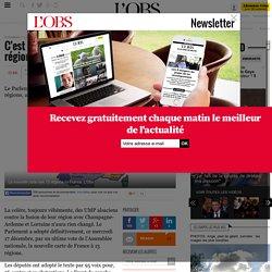 C'est fait, la France va compter 13 régions- 17 décembre 2014