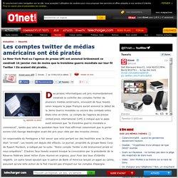 Les comptes twitter de médias américains ont été piratés