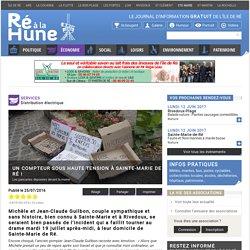 Un compteur Linky sous haute tension à Sainte-Marie - Ré à la Hune