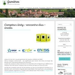 Compteur linky : rencontre élus - enedis - Gumières - Loire