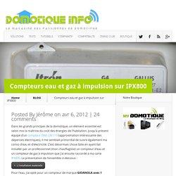 Compteurs eau et gaz à impulsion sur IPX800